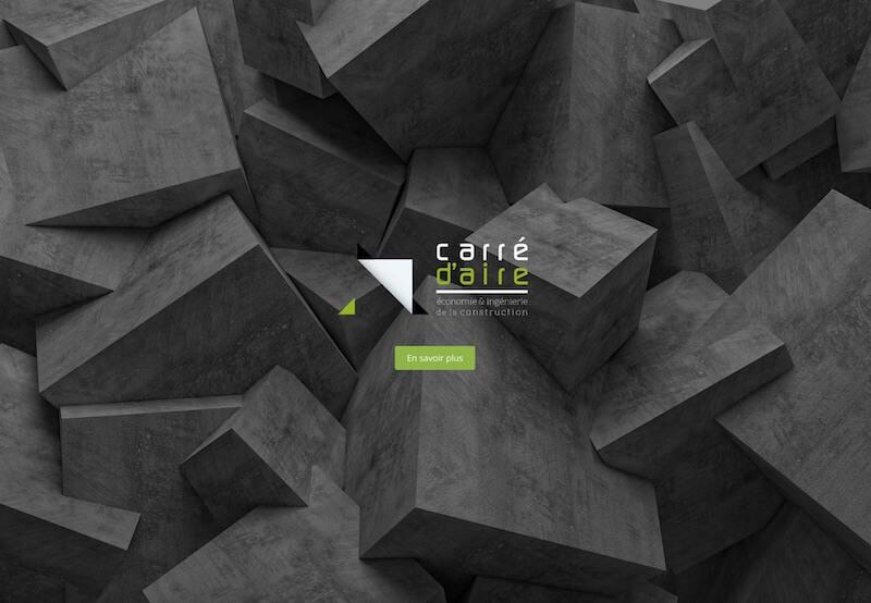 Site internet Carré d'aire